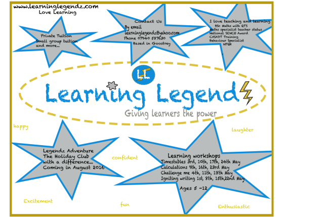 learning legendz advert